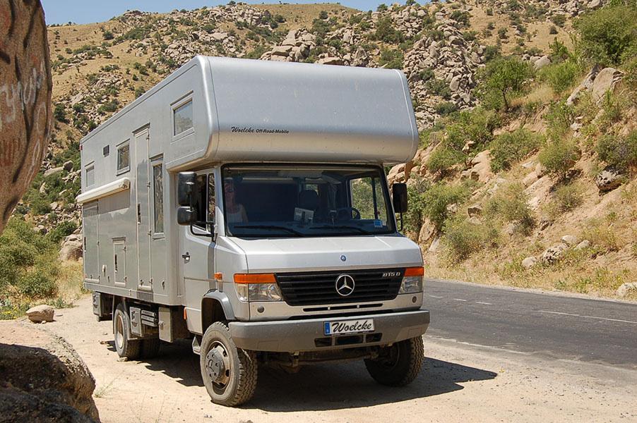 Mercedes  D Wohnmobil
